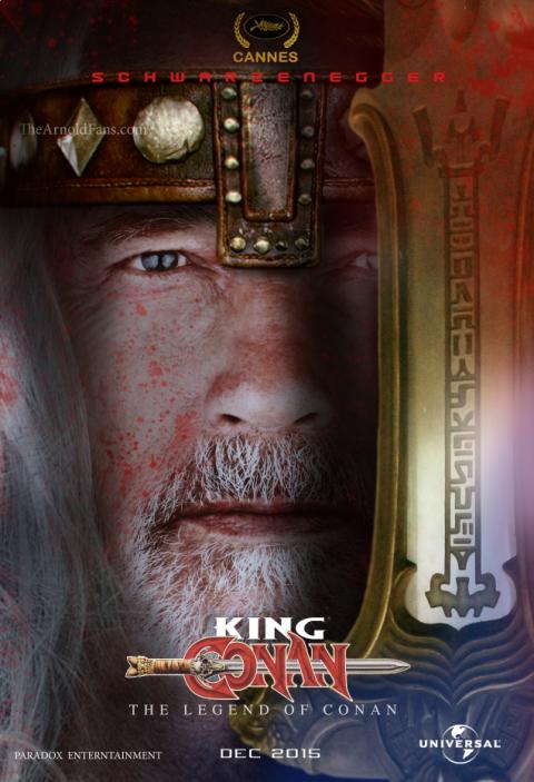 Póster King Conan