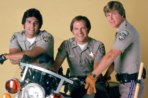 CHiPs tv show image Erik Estrada and Larry Wilcox