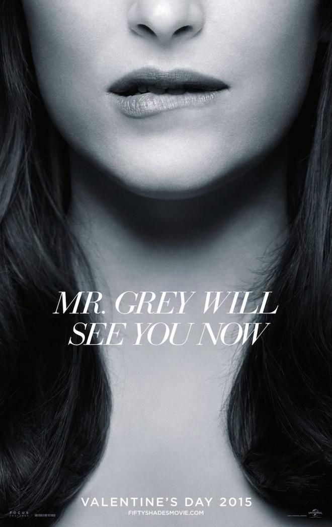 Afiche de 50 Sombras de Grey