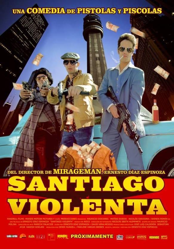 Póster Santiago Violenta