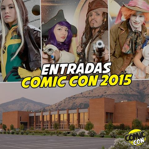 Estradas Comic-Con Chile