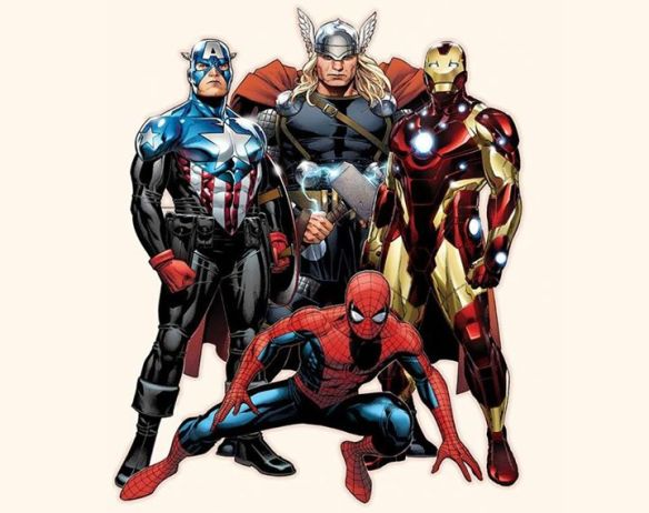 Spiderman Avengers