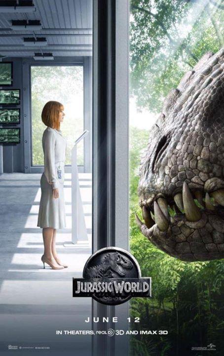 Nuevo afiche de Jurassic World