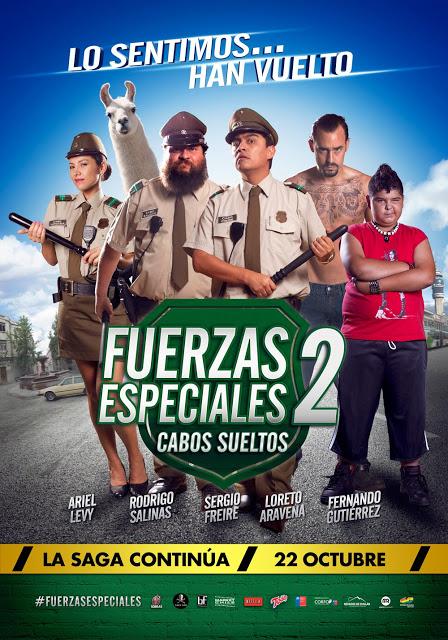 Afiche oficial Fuerzas Especiales 2