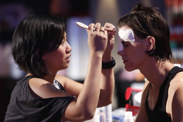 FACE OFF -- Episode 801 -- Pictured: -- (Photo by: Jordin Althaus/Syfy)