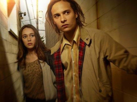 Alycia Debnam Carey as Alicia and Frank Dillane as Nick - Fear the Walking Dead _ Season 1, Gallery - Photo Credit: Frank Ockenfels 3/AMC