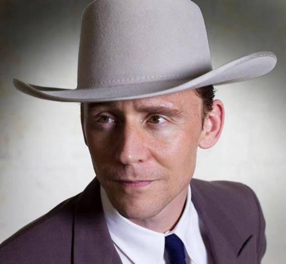 1ra imagen promocional de Tom Hiddleston como Hank Williams