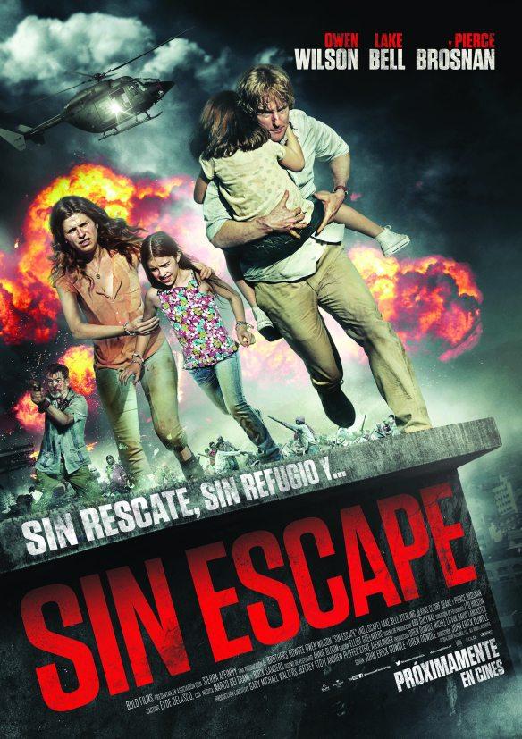 Afiche Sin Escape