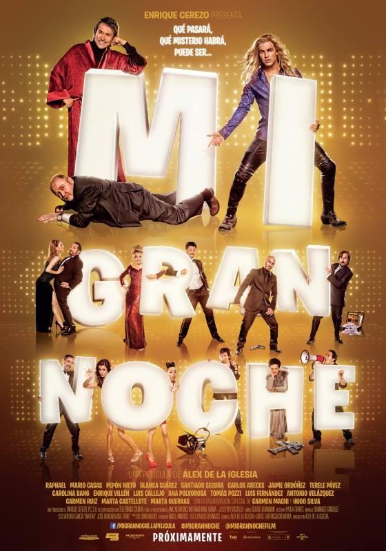 Poster Mi Gran Noche 1