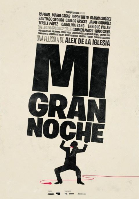 Poster Mi Gran Noche 2