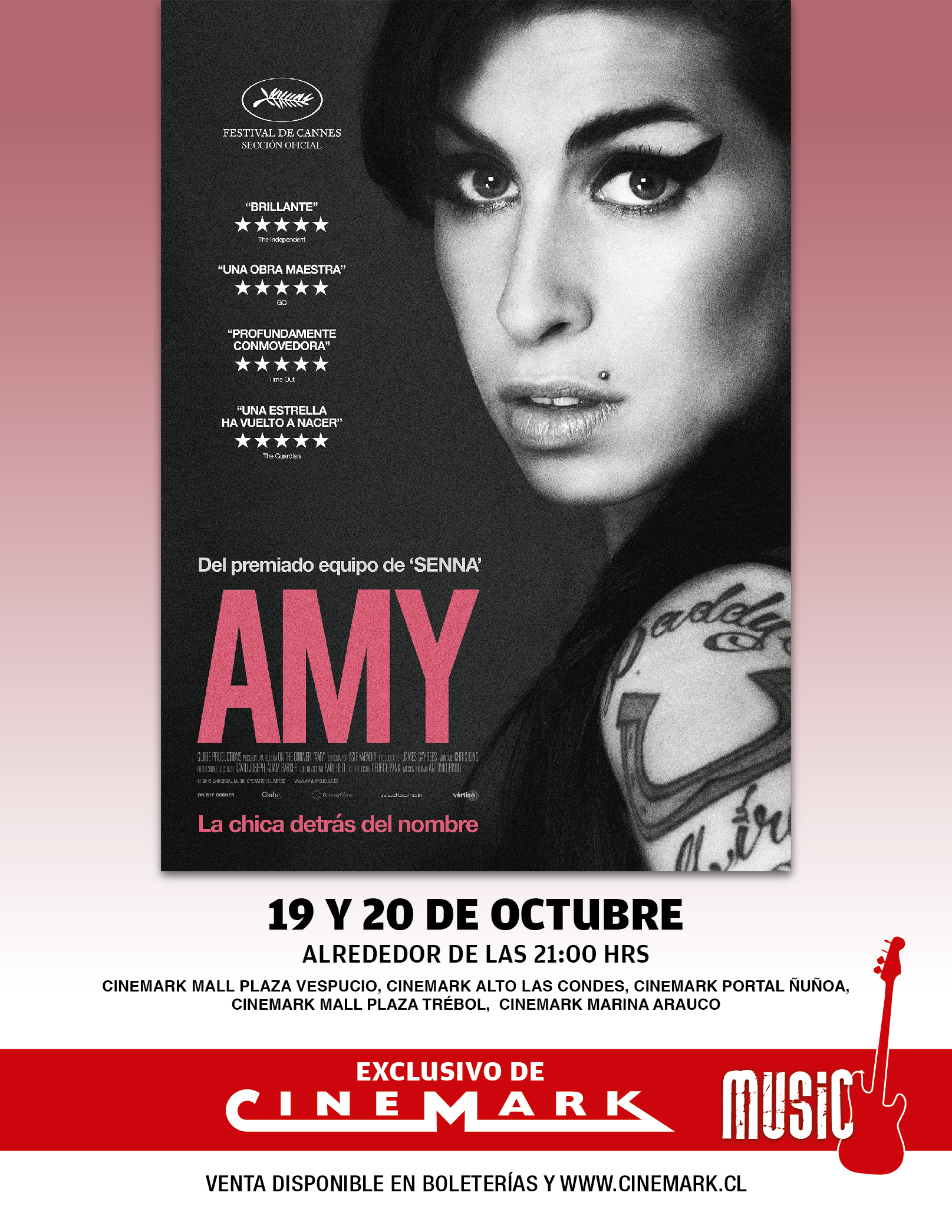 Amy Winehouse Cinemark