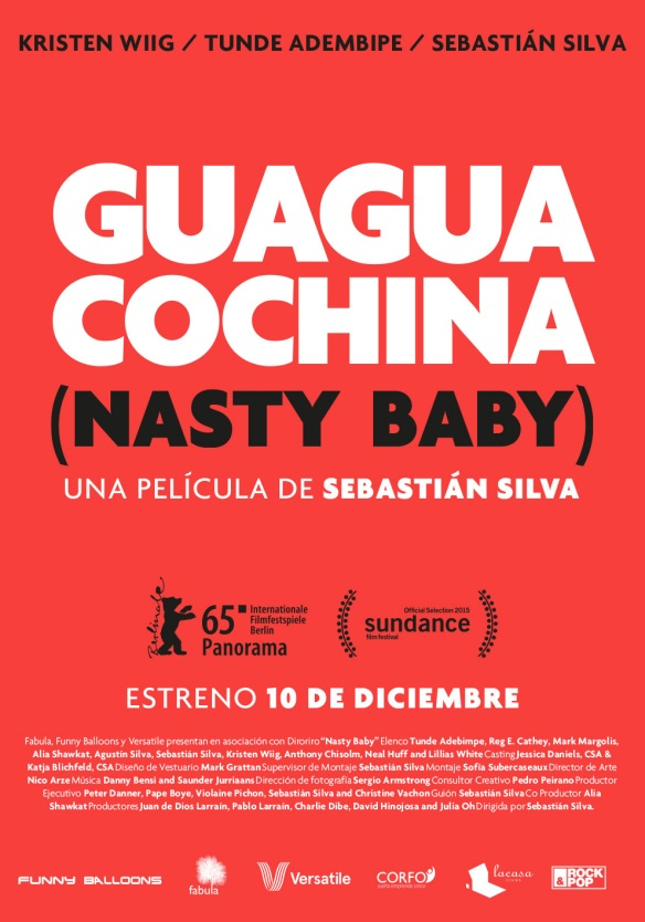 Afiche Guagua Cochina