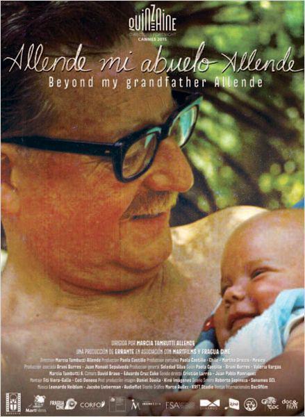 Afiche Cannes allende mi abuelo allende