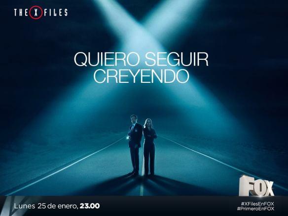 Afiche Quiero Seguir Creyendo The X-Files