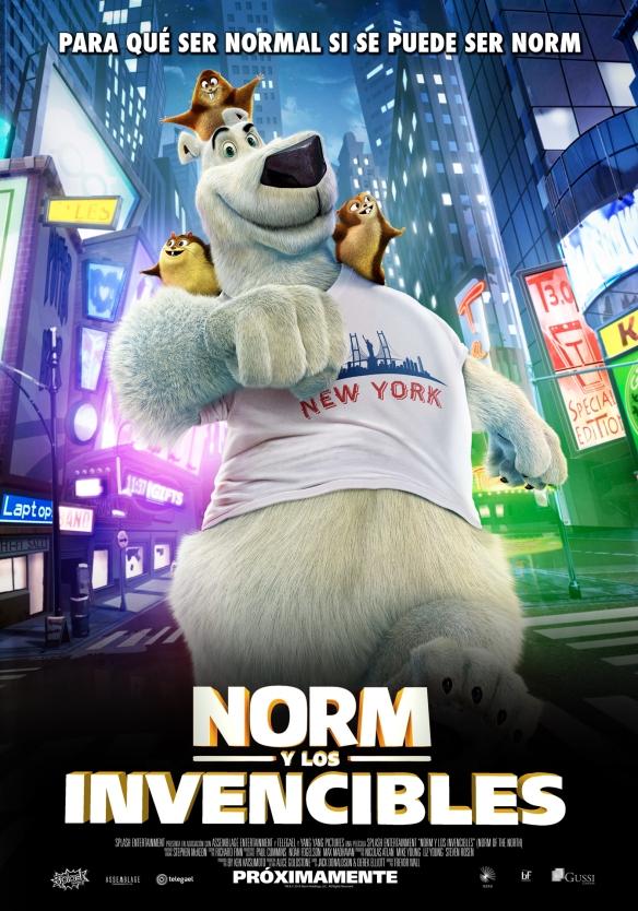 Afiche de Norm y los Invencibles (2)