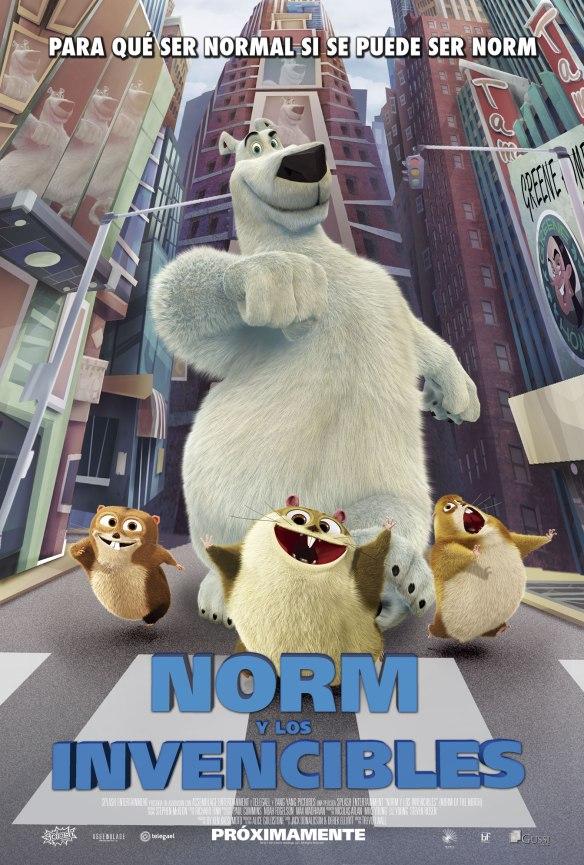 Afiche de Norm y los Invencibles (3)