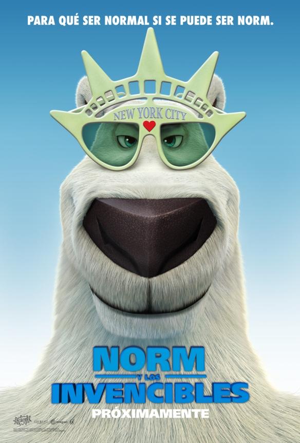 Afiche de Norm y los Invencibles