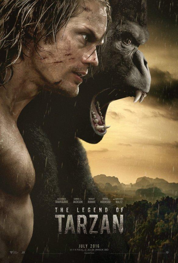 Afiche La leyenda de Tarzán