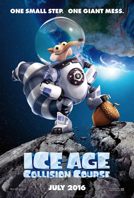 Poster Oficial de ICE AGE COLLISION COURSE