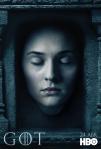 Afiches oficiales de los personajes de Game of Thrones 10