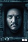 Afiches oficiales de los personajes de Game of Thrones 11
