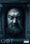 Afiches oficiales de los personajes de Game of Thrones 15