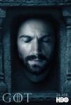 Afiches oficiales de los personajes de Game of Thrones 17