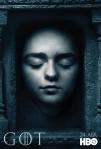 Afiches oficiales de los personajes de Game of Thrones 2