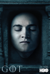 Afiches oficiales de los personajes de Game of Thrones 9