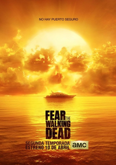 Afiche Fear the Walking Dead