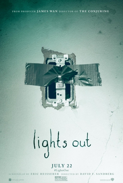 Afiche Lights Out