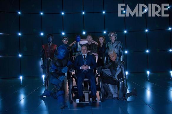 Nuevas imágenes de la revista Empire de X-Men Apocalipsis 1