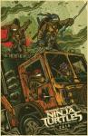 Nuevo afiche de Tortugas Ninja Fuera de las Sombras 3