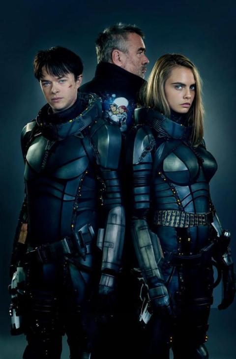 Primera imagen oficial de Valerian and the City of a Thousand Planets