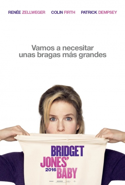 Afiche Bridget Jones's Baby