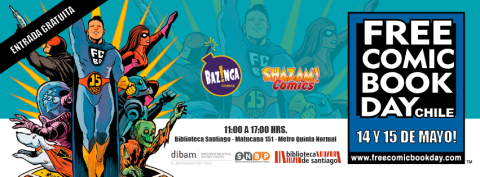Free Comic Book Day Chile