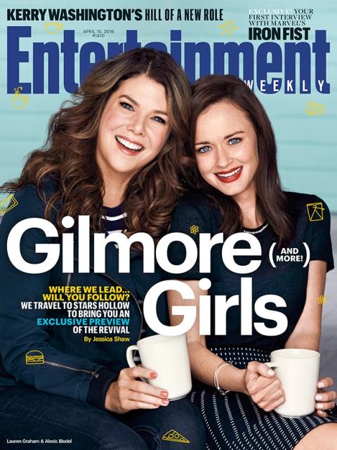 Imágenes oficiales del regreso de Gilmore Girls 1