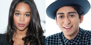 Laura Harrier y Tony Revolori
