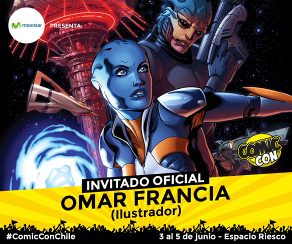 Omar Francia - Comic-Con Chile 2016