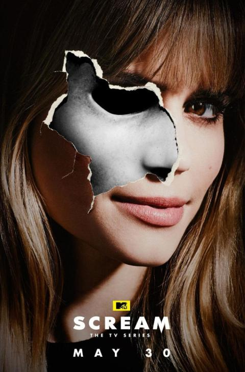 Afiche de la 2da temporada de Scream 1