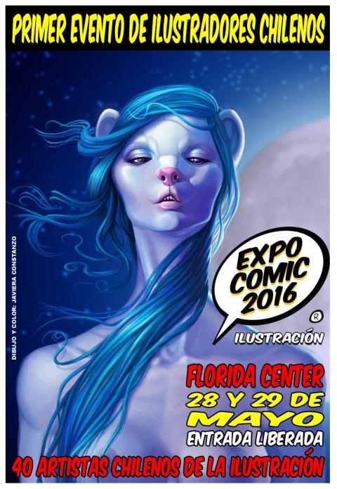 Afiche Expo-Comic 2016