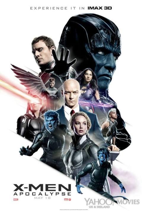 Afiche IMAX de X-Men Apocalipsis