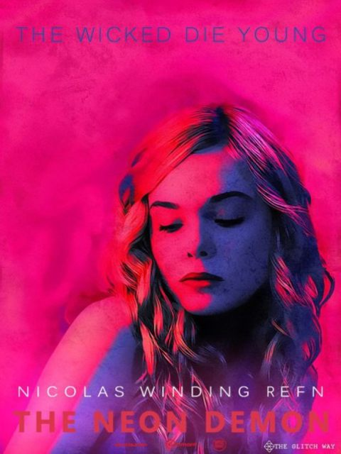 Afiche The Neon Demon 1
