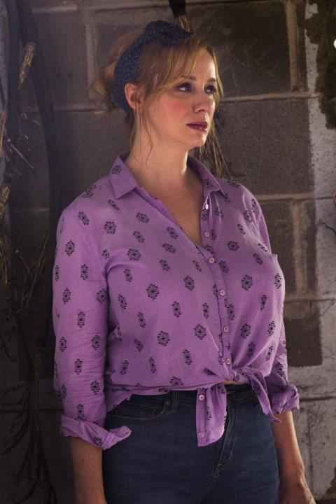 Christina Hendricks as Trudy Fawst - Hap and Leonard _ Season 1, Episode X - Photo Credit: Hilary Gayle/Sundance Film Holdings LLC