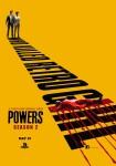 Poster de la segunda temporada de Powers 2
