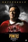 Poster de la segunda temporada de Powers 3