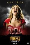 Poster de la segunda temporada de Powers 4
