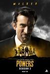 Poster de la segunda temporada de Powers 6
