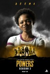 Poster de la segunda temporada de Powers 7