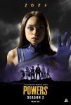 Poster de la segunda temporada de Powers 8